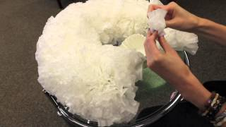 getlinkyoutube.com-DIY Coffee Filter Wreath