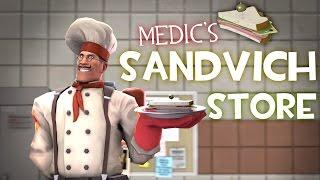 getlinkyoutube.com-Medic's Sandvich Store [Saxxy Awards 2016 Short]