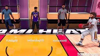 getlinkyoutube.com-OMG ANKLES BROKEN • 360 OJ DUNK • KUDA's AIRBALL | NBA 2k16 Hilarious Pro Am