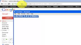how to send sms free using gmail