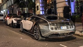 getlinkyoutube.com-EPIC London Supercars 2015: Mansory Bugatti, Enzo, Aventador SV...