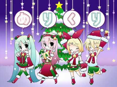 [Rin Kagamine + Aoki Lapis] Last Christmas Japanese ver (Failed mix)