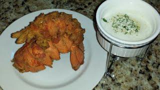 getlinkyoutube.com-Deep Fried Lobster Tail