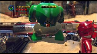LEGO Marvel Super Heroes - Cheat From Trainer Preview -