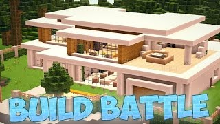 getlinkyoutube.com-¿UNA CASA MODERNA? XD  | MINECRAFT: BUILD BATTLE
