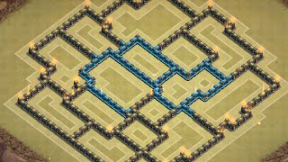 getlinkyoutube.com-Clash of Clans: NEW Townhall 9 War Base ll Centralized CCl ll Early April 2015 Edition