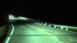 やっぱり恐怖めっちゃこわい夜の六甲 Drive a Impreza