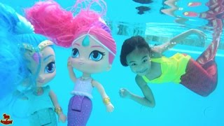 Magic Mermaids Shimmer and Shine Unboxing   Toys Academy