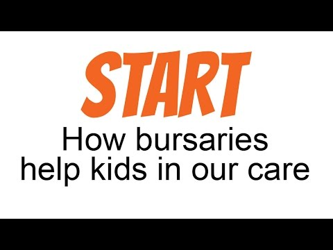 How bursaries help kids in our care