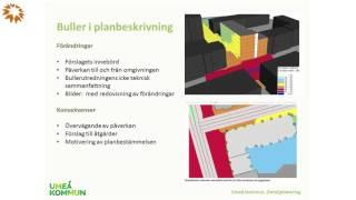 Nya bestämmelser om buller - Magdalena Blomkvist,  Umeå kommun