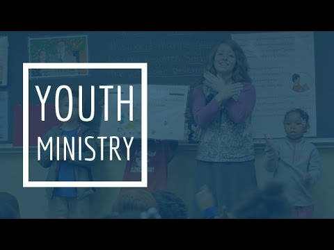 Youth Ministry - The Youth Pastor's Wife (Pastor Woven)