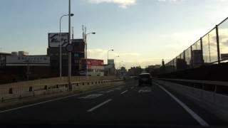 getlinkyoutube.com-千里中央~心斎橋 国道423号線 新御堂筋 御堂筋 osaka
