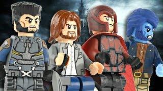 getlinkyoutube.com-LEGO Marvel : X-Men Days of Future Past Minifigures - Showcase