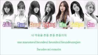 AOA - Chocolate [Sub. Español + Hangul + Rom] Color & Picture Coded