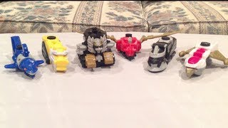 getlinkyoutube.com-McDonald's Megaforce Happy Meal Toys [Power Rangers Megaforce]