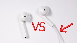 getlinkyoutube.com-Apple Airpods vs Apple Lightning Headphones