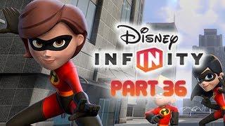 getlinkyoutube.com-Disney Infinity Gameplay Walkthrough Part 36 - MRS. INCREDIBLE ELASTIGIRL Incredibles Play Set World