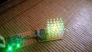 getlinkyoutube.com-LED CUBE using digital IC (555-4017)