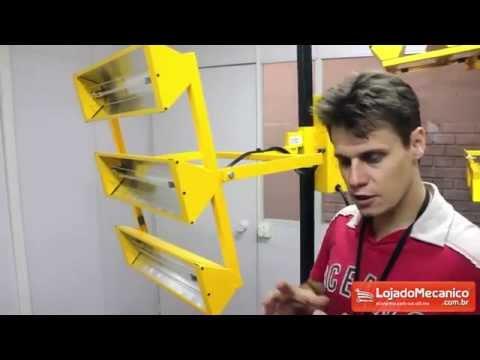 Painel de secagem rápida para automóveis V8 BRASIL CRONO3 - Loja do Mecânico
