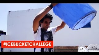 #ICEBUCKETCHALLENGE - تحدي الثلج - YASSINE JARRAM - ICE BUCKET CHALLENGE