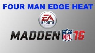 getlinkyoutube.com-Madden 16 TIPS: 4 Man Edge Heat! Nano Blitz! Madden 16 Defensive TIps