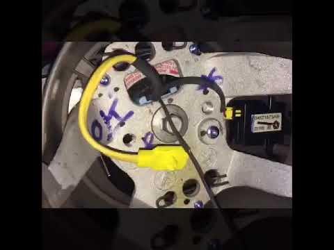 Как снять подушку безопасности Chrysler PT Cruiser 2000+ Dr.VOLANT