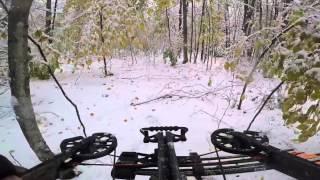 getlinkyoutube.com-GoPro Hero4 Black Deer Hunting Crossbow 8 point Buck YouTube 10 18 2015