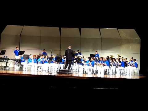Fanfare for the Third Planer  by CMS 8th grade band 5-22-2013