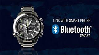 getlinkyoutube.com-CASIO EDIFICE Bluetooth® SMART enabled EQB-500 product video