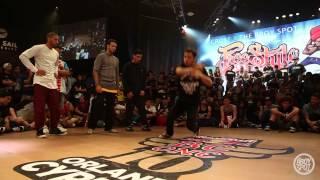 getlinkyoutube.com-Flipside Dynasty Disorderz vs The Squadron - Freestyle Session 16 USA Finals