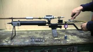 getlinkyoutube.com-DIY Big Bore Air Rifle Mods And Test