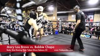 Mary Lou Bravo vs. Bobbie Chapa