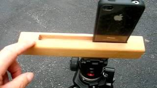 getlinkyoutube.com-Homemade iPhone Tripod Mount
