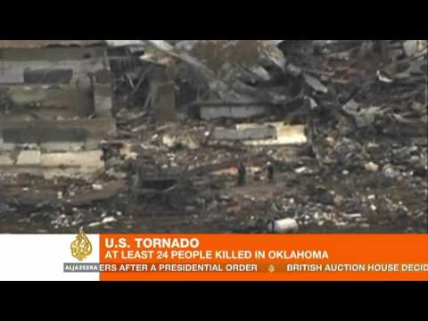 Search for survivors of Oklahoma tornado continues
