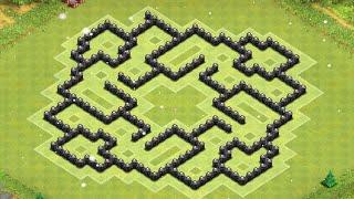 getlinkyoutube.com-Base Showcase: Nautilus TH8 Farming Base - Clash of Clans