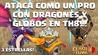 getlinkyoutube.com-Combo Rayos, Dragones y Globos! 100% a cualquier TH8!