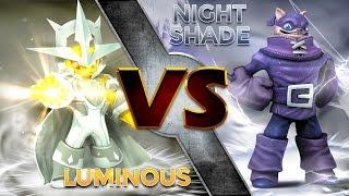 getlinkyoutube.com-Skylanders Trap Team - Luminous VS Nightshade