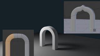 getlinkyoutube.com-Blender 2.66 How To Model An Arch