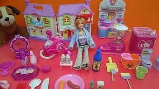 getlinkyoutube.com-العاب اطفال | العاب بنات |  لعبة العروسة باربي فى المنزل Baby Games | Girls games | Barbie house