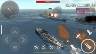 getlinkyoutube.com-[WARSHIP BATTLE] Episode 8 Mission 2 - Escort Nautilus