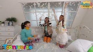 getlinkyoutube.com-[막이래쇼5] 뒷이야기 포토에세이 여자멤버_막이래쇼4 복습하기_Tooniverse Makire show5 Unlimited Show behind
