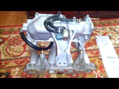 Ч.1 Обзор впускного коллектора Nissan Primera QP12 QG18DE В ПОСЛЕДУЮЩЕМ УСТАНОВКА