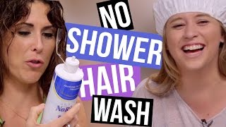 getlinkyoutube.com-4 Ways to Wash Your Hair Without Showering (Beauty Break)