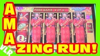 getlinkyoutube.com-LIGHTNING LINK - AMAZING RUN - Slot Machine LIVE PLAY & BONUS BIG WIN