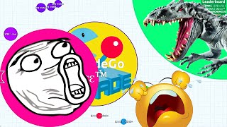 getlinkyoutube.com-Agario Epic Team Gameplay Agar.io Experimental Funny Moments!