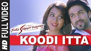 getlinkyoutube.com-Koodi Itta Full Video Song || Santhu Straight Forward || Yash, Radhika Pandit