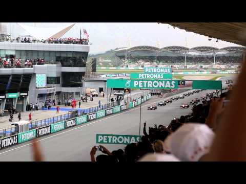 2012 Malaysian Grand Prix Start F1 [Full HD]