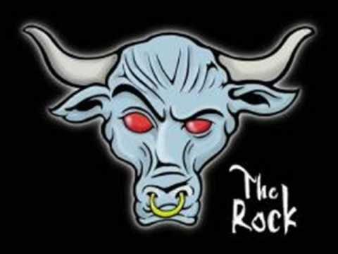 Wwe The Rock Bull Logo
