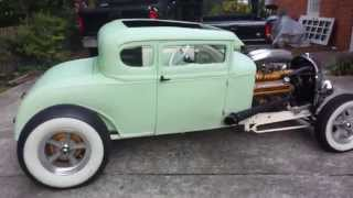 getlinkyoutube.com-1930 Ford Model A Coupe Hot Rod