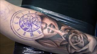 getlinkyoutube.com-Silence times - Tattoo (time lapse and real time)